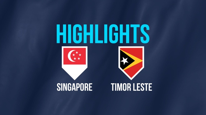 Highlights AFF Cup: DT Singapore 6-1 DT Timor Leste hinh anh