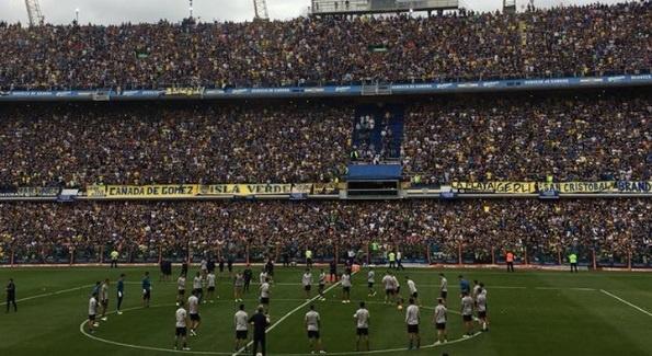 49.000 CDV xem buoi tap truoc chung ket cua Boca Junior hinh anh
