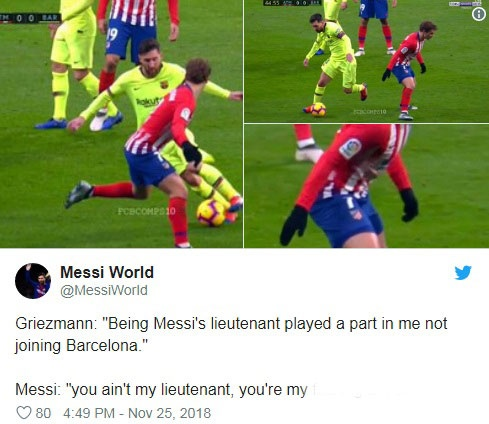 Khoanh khac Messi khien Griezmann xau ho gay chu y tren mang xa hoi hinh anh 7