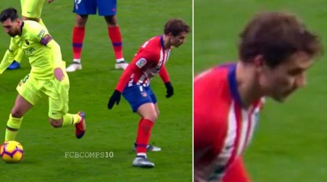 Khoanh khac Messi khien Griezmann xau ho gay chu y tren mang xa hoi hinh anh 1