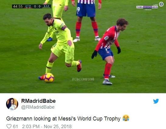 Khoanh khac Messi khien Griezmann xau ho gay chu y tren mang xa hoi hinh anh 4