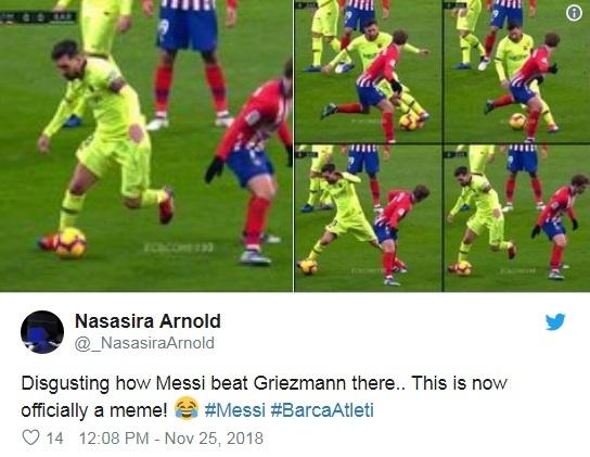 Khoanh khac Messi khien Griezmann xau ho gay chu y tren mang xa hoi hinh anh 5