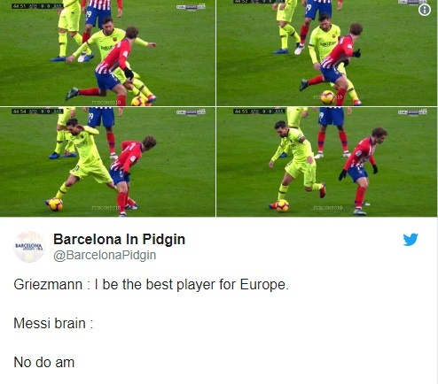 Khoanh khac Messi khien Griezmann xau ho gay chu y tren mang xa hoi hinh anh 6