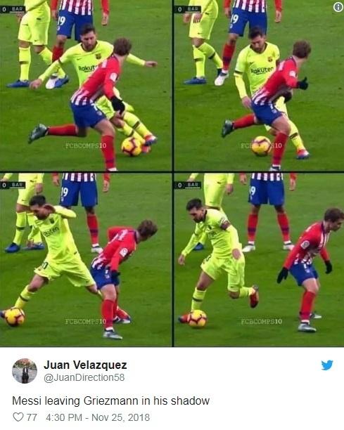 Khoanh khac Messi khien Griezmann xau ho gay chu y tren mang xa hoi hinh anh 8