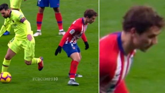 Khoanh khac Messi khien Griezmann xau ho gay chu y tren mang xa hoi hinh anh