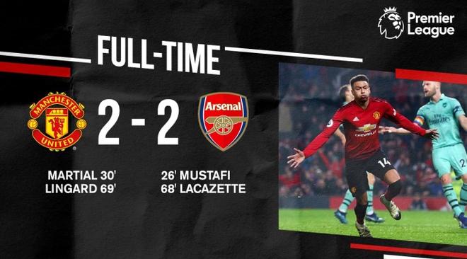 Man Utd, Arsenal chia diem sau man ruot duoi ty so hinh anh 19