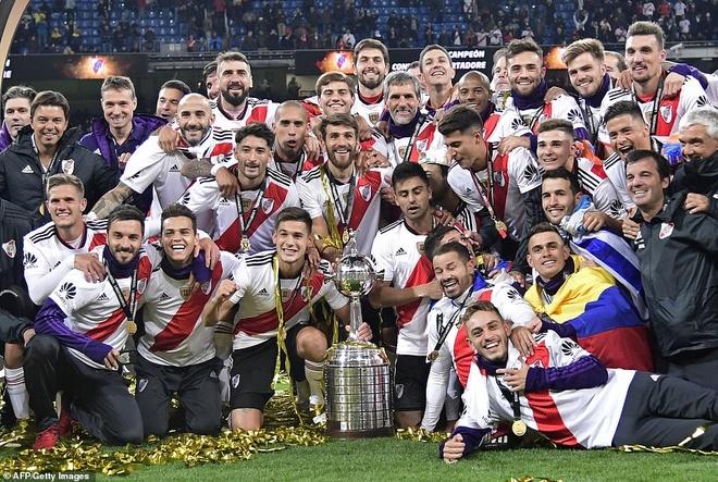 Nguoc dong ha Boca Juniors, River Plate dang quang Copa Libertadores hinh anh 3