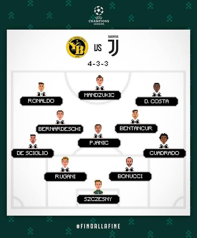 Ronaldo vo duyen, Juventus thua Young Boys 1-2 hinh anh 3