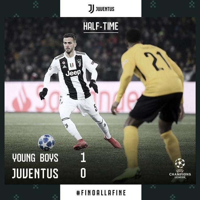 Ronaldo vo duyen, Juventus thua Young Boys 1-2 hinh anh 16