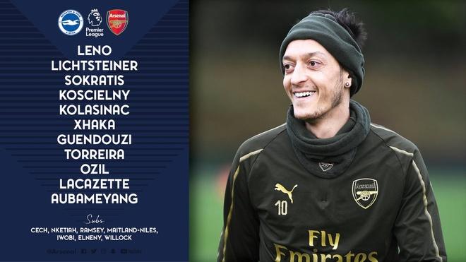 Aubameyang ghi ban, Arsenal co 1 diem hu via truoc Brighton hinh anh 4