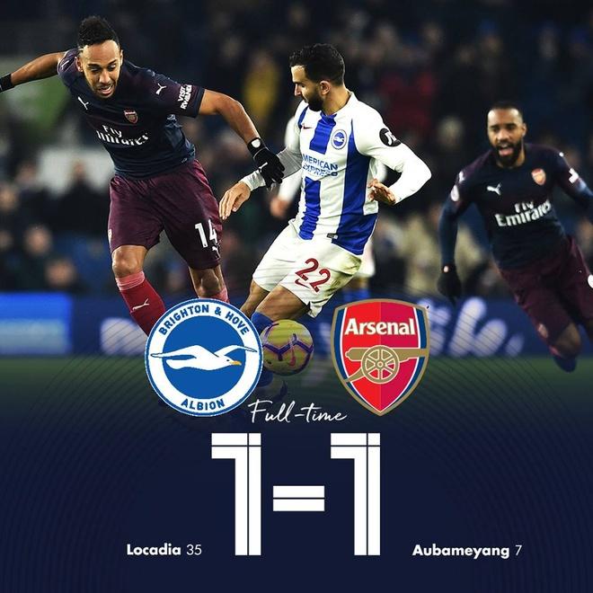 Aubameyang ghi ban, Arsenal co 1 diem hu via truoc Brighton hinh anh 22