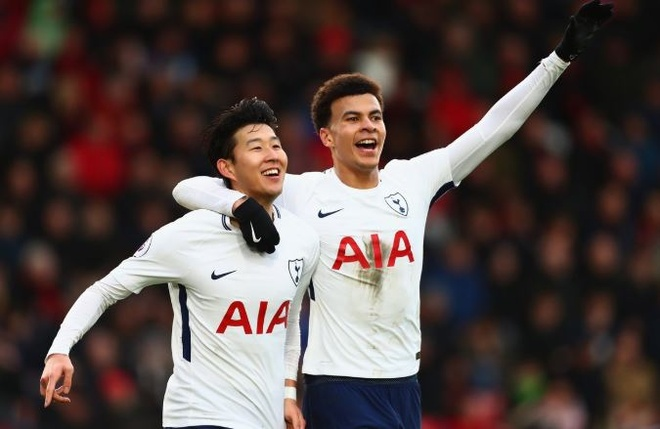 Son Heung-min toa sang giup Tottenham vuot mat Man City hinh anh