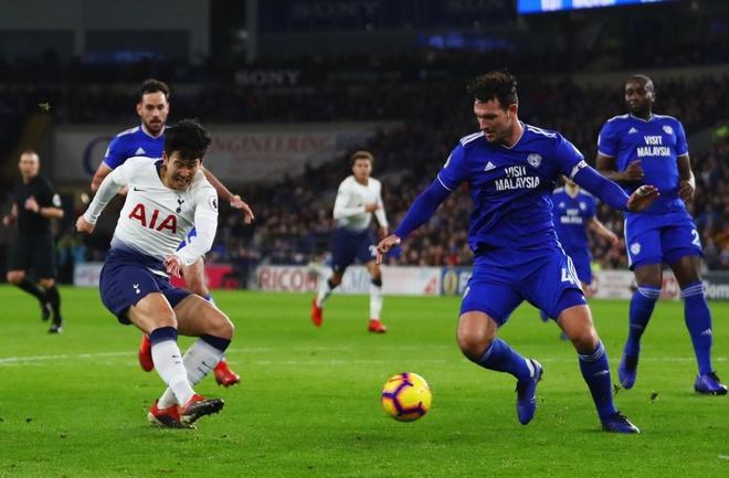 Son Heung-min ghi ban dua Tottenham tro lai vi tri thu 2 hinh anh 2