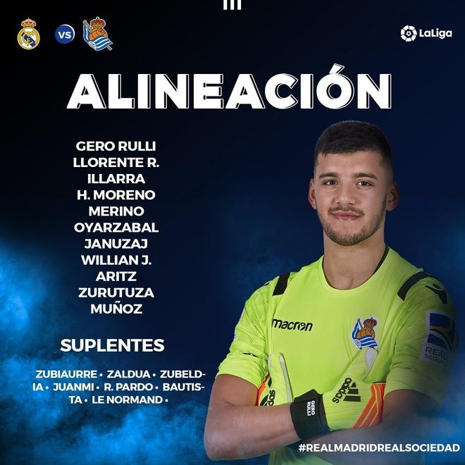 Vazquez nhan the do, Real tham bai tren san nha truoc Sociedad hinh anh 5