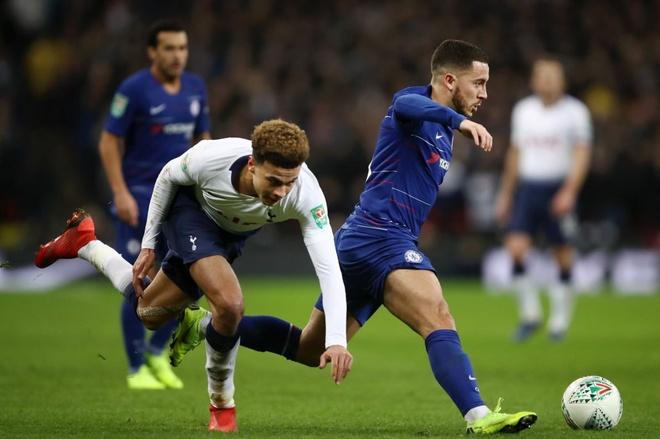 Ha Chelsea, Tottenham dat mot chan vao chung ket cup Lien doan Anh hinh anh 2
