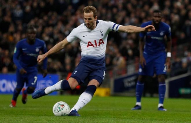Ha Chelsea, Tottenham dat mot chan vao chung ket cup Lien doan Anh hinh anh 1