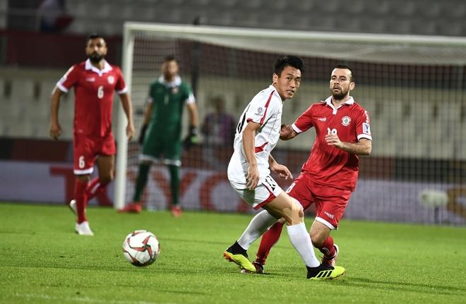 Viet Nam gianh ve vao vong 1/8 Asian Cup nho hon Lebanon chi so phu hinh anh 11