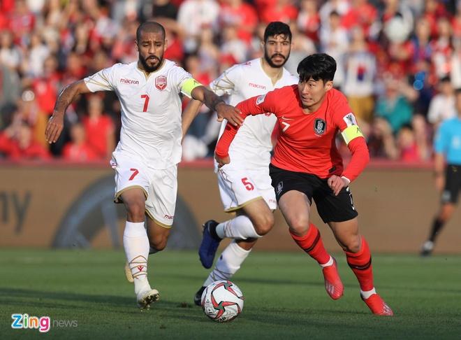 Son Heung-min mo nhat, Han Quoc chat vat vao tu ket Asian Cup hinh anh 15