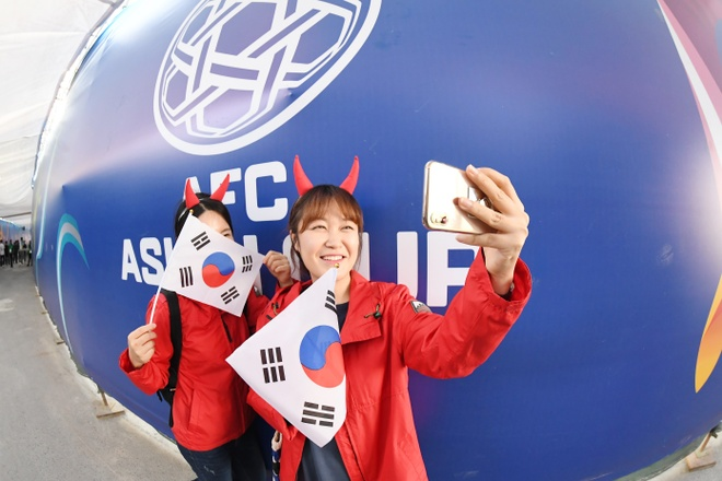 Son Heung-min mo nhat, Han Quoc chat vat vao tu ket Asian Cup hinh anh 4