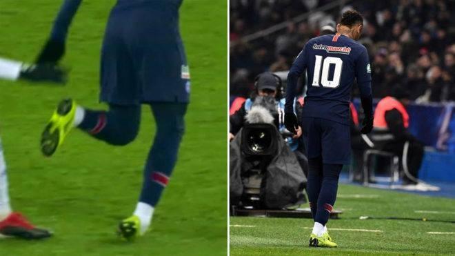 Neymar vang mat ca 2 tran gap MU o Champions League vi chan thuong hinh anh 1
