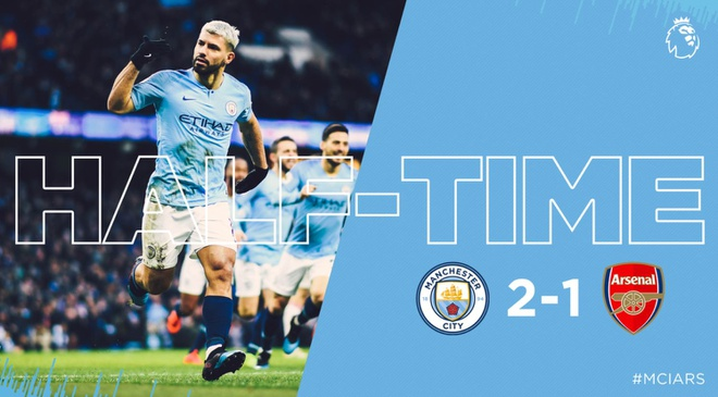 Man City 3-1 Arsenal: Aguero lap hat-trick hinh anh 16