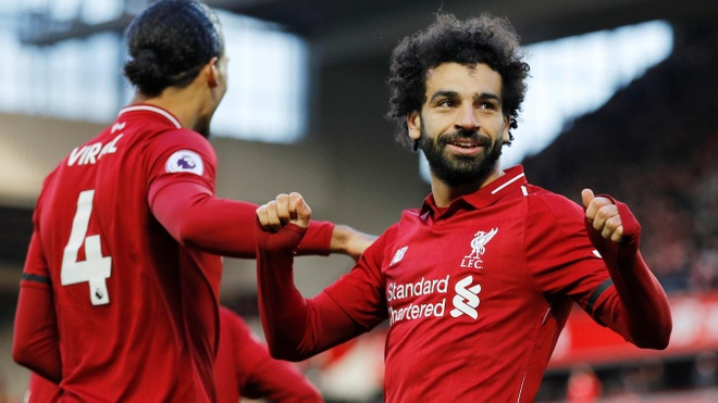 Salah ghi ban, Liverpool tro lai ngoi dau bang Premier League hinh anh 1