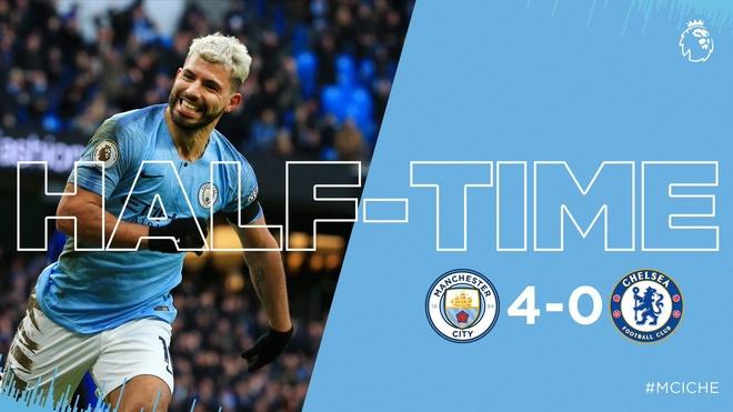 De bep Chelsea 6-0, Man City tro lai ngoi dau Premier League hinh anh 26