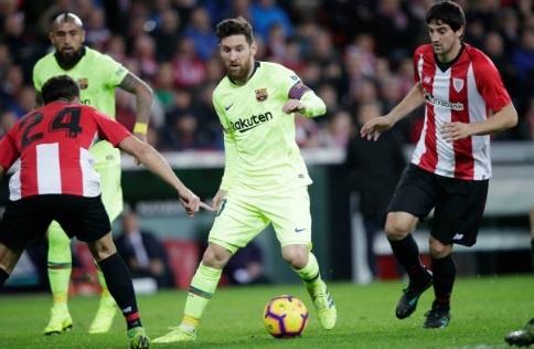 Messi tit ngoi, Barca bi cam hoa tran thu 3 lien tiep hinh anh 1