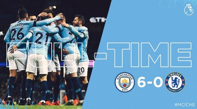 De bep Chelsea 6-0, Man City tro lai ngoi dau Premier League hinh anh 31