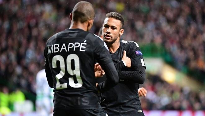 Bat chap chan thuong, Neymar nhay an mung ban thang cua Mbappe hinh anh