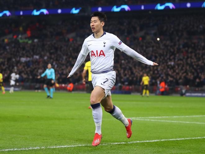 Son Heung-min sanh vai Mbappe o doi hinh tieu bieu Champions League hinh anh 5