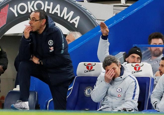 HLV Sarri bi CDV Chelsea si va ngay trong tran dau voi MU hinh anh 1