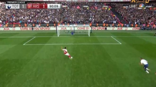 Trong tai sai lam o ca 2 qua 11 m khien Arsenal mat chien thang hinh anh 2