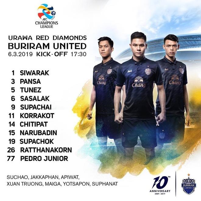 Buriram United thua Urawa Reds trong tran Xuan Truong du bi hinh anh 5