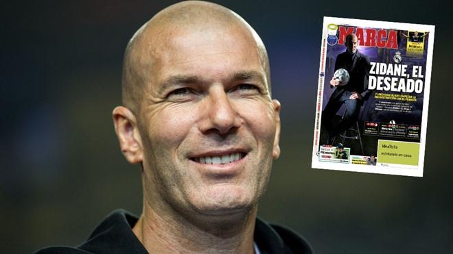HLV Zinedine Zidane tro lai dan dat Real Madrid hinh anh 2