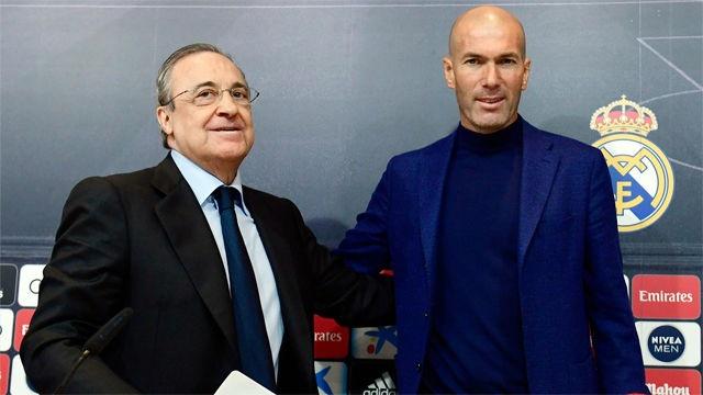 HLV Zinedine Zidane tro lai dan dat Real Madrid hinh anh 5