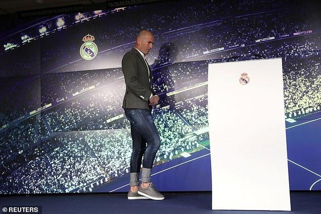 Zidane sanh dieu trong ngay tro lai Real Madrid hinh anh 2