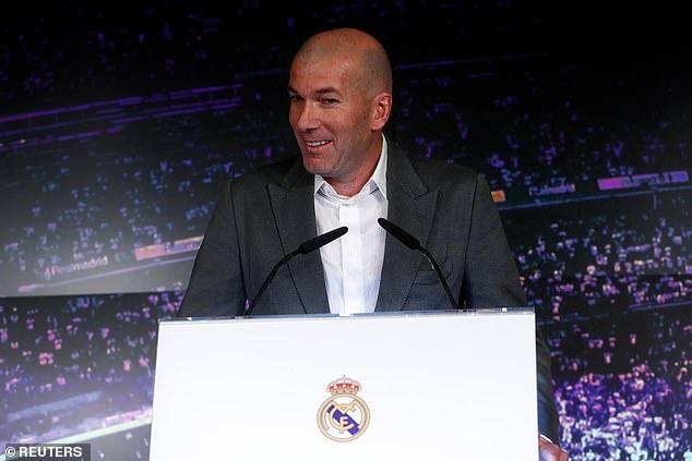 Zidane sanh dieu trong ngay tro lai Real Madrid hinh anh 3