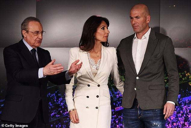 Zidane sanh dieu trong ngay tro lai Real Madrid hinh anh 5