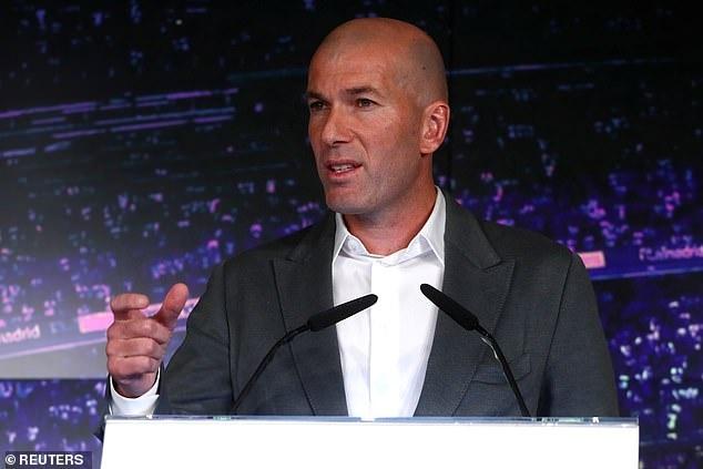 Zidane sanh dieu trong ngay tro lai Real Madrid hinh anh 6