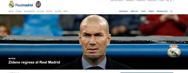 HLV Zinedine Zidane tro lai dan dat Real Madrid hinh anh 11