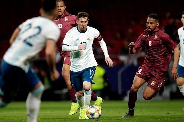 Argentina thua Venezuela 1-3 trong ngay Messi tro lai hinh anh 2