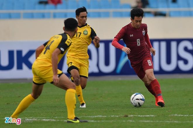 U23 Thai Lan de bep Brunei 8-0, gay suc ep toi Viet Nam hinh anh 14