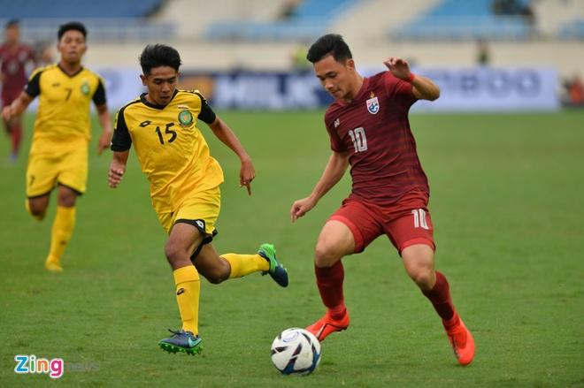 U23 Thai Lan de bep Brunei 8-0, gay suc ep toi Viet Nam hinh anh 15