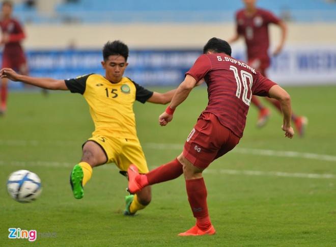 U23 Thai Lan de bep Brunei 8-0, gay suc ep toi Viet Nam hinh anh 19