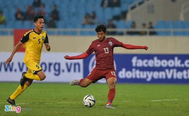 U23 Thai Lan de bep Brunei 8-0, gay suc ep toi Viet Nam hinh anh 24