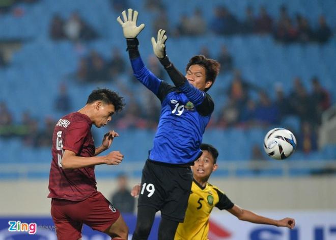 U23 Thai Lan de bep Brunei 8-0, gay suc ep toi Viet Nam hinh anh 27