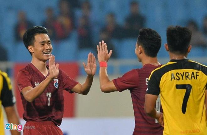 U23 Thai Lan de bep Brunei 8-0, gay suc ep toi Viet Nam hinh anh 33