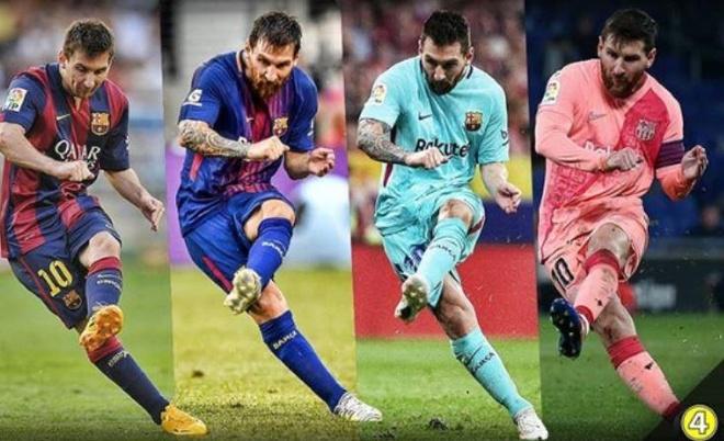 Giai ma ky thuat da phat 'bach phat bach trung' cua Messi hinh anh 1