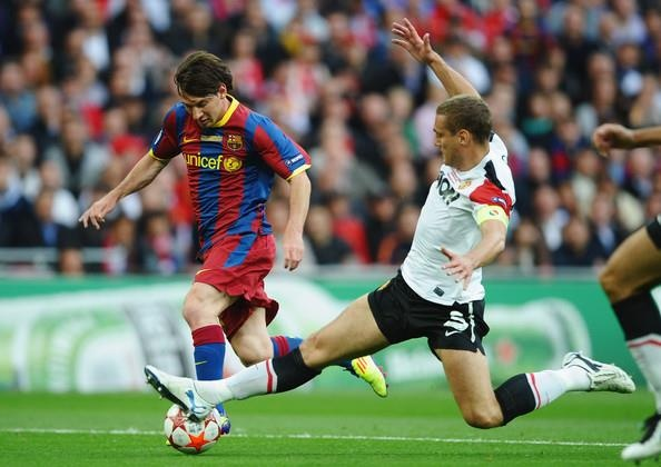 Doi hinh Man Utd bi Messi danh bai nam 2011 gio o dau? hinh anh 5